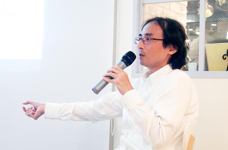 「モテる女の魅力」をAMサロンイベントで語る中川淳一郎