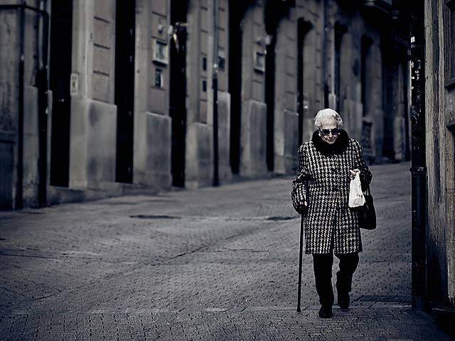50年後グランドマザーのイメージ写真
