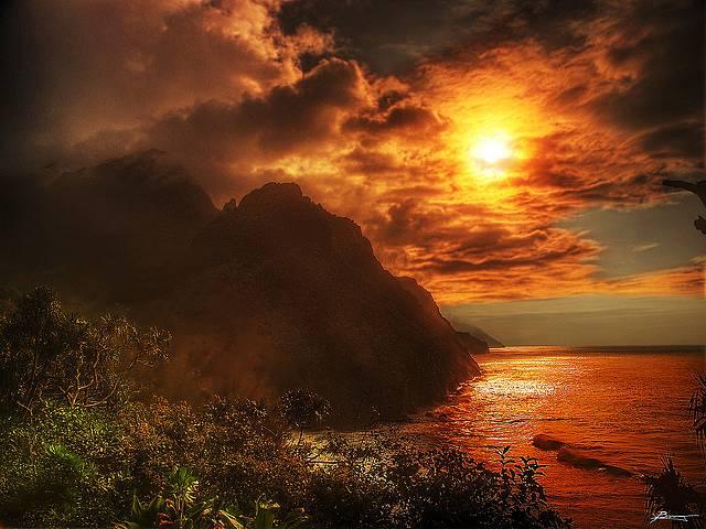 風景の写真