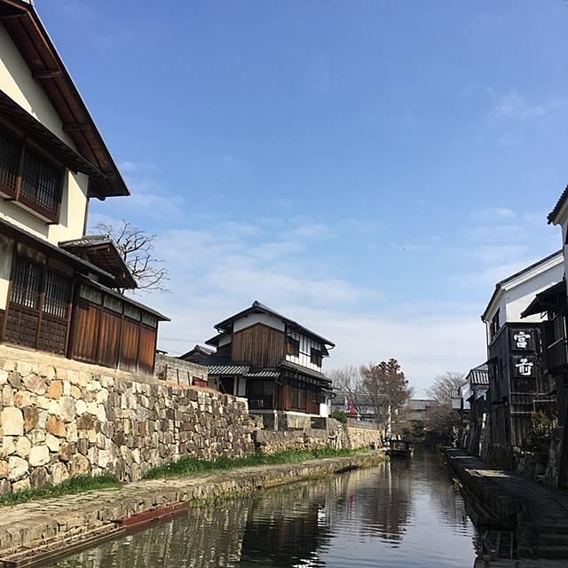 滋賀県の八幡堀