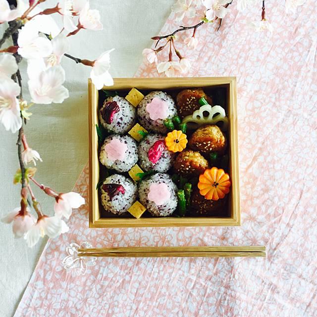 太田みお お花見 弁当 桜 ピクニック 春色弁当 ランチ