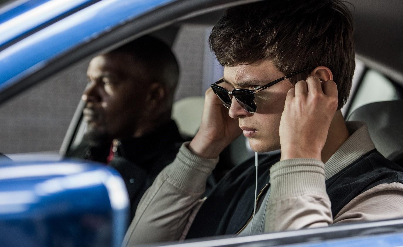 『ベイビー・ドライバー』の劇中画像